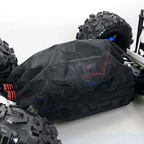 Naliovker Rei/ßVerschluss Typ Staub Wasserdicht Netz Abdeckung Schutz Netz Abdeckung Staub Schutz f/ür 1//10 Traxxas E-Revo ERevo 2.0 Summit Rc Auto Teile
