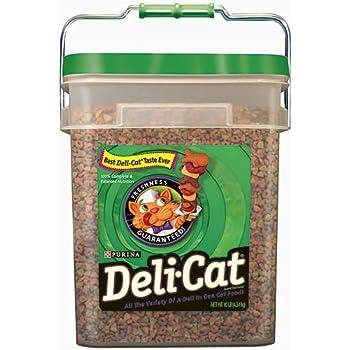 Amazon Com Purina Deli Cat Cat Food 10 Lb Pail Dry