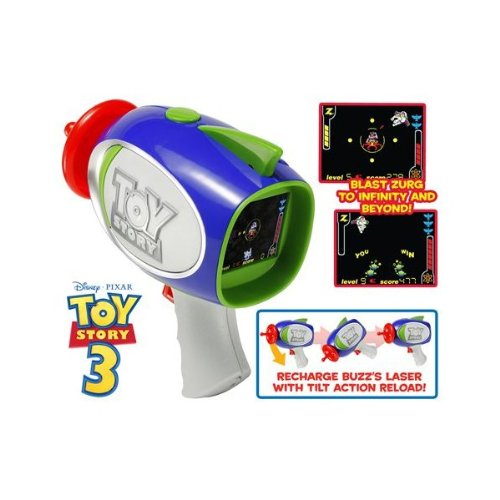 Toy Story 3 Buzz's Blaster Lcd Video Game Picture