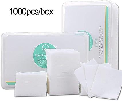 1000Pcs/ Caja Almohadillas Desmaquillantes Protección del medio ...