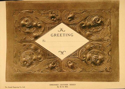 1908-print-embossed-leatherwork-leather-work-greeting-original-print