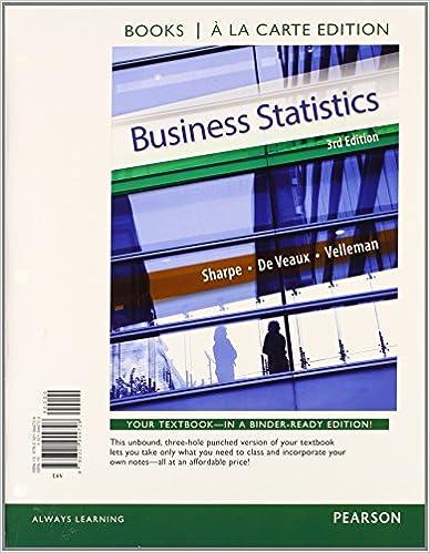 Business Statistics Student Value Edition Plus NEW MyStatLab with ...