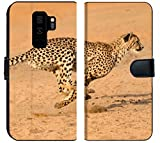 Samsung Galaxy S9 Plus Fabric Wallet Case Running at Full Speed in South Africa Acinonyx jubatus Image 33943583 Customized Tablem
