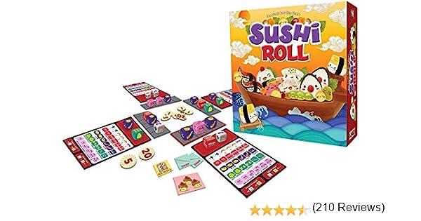 Gamewright Sushi Roll Game: Amazon.es: Juguetes y juegos