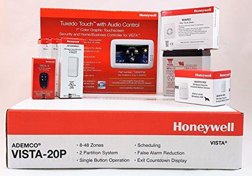Honeywell Vista 20P With TUXWIFIW Tuxedo Touch Battery, Sire