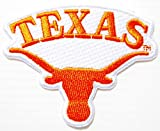 TEXAS LONGHORNS NCCA Logo Sign Patch Iron on Applique Embroidered