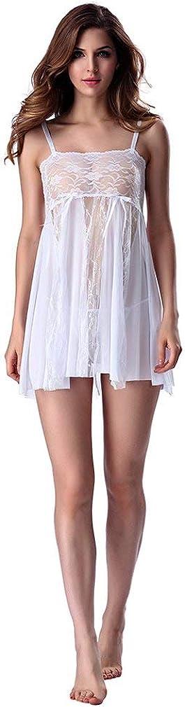 Hot Charming High Elasticity Lace Babydoll Lingerie Spaghetti Strap Sling Sleeping Dress Sleepwear Bodysuit