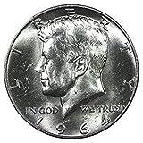 #10: 1964 Various Mint Marks Kennedy Half Dollar .50 Brilliant Uncirculated