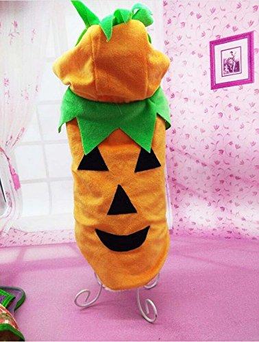 MagicMen Pet Dog Sweater Cat Clothes Pet Puppy Halloween Gift Dog Shirt Tops Pumpkin Costumes Festival Clothes (Underdog Dog Costume)