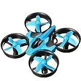 GOKOO H36 Mini Quadcopter Drone 2.4G 4CH 6Axis Headless Mode Nano Quadcopter Mode 2(Blue)