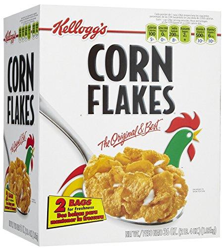 Kellogg's Corn Flakes Corn Flakes Cereal, 36 ounce