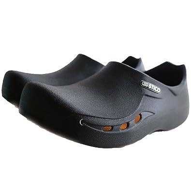 Amazon Com Stico Mens Chef Kitchen Slip Resistant Safety Shoes