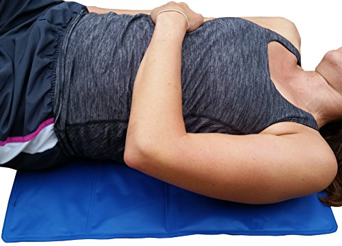 Rugged Brute, Large Ice Pack For Cold Therapy. Oversize Back Ice Pack (23'' X 17''). Extra Large Ice Pad For Full and Lower Back Pain Relief. Cold Pack For Muscle Pain Relief. by Rugged Brute