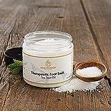Tea Tree Oil Foot Soak with Epsom Salt. Helps