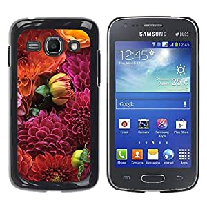 LASTONE PHONE CASE / Slim Protector Hard Shell Cover Case for Samsung Galaxy Ace 3 GT-S7270 GT-S7275 GT-S7272 / Cool Red Bug Spots Pattern Nature