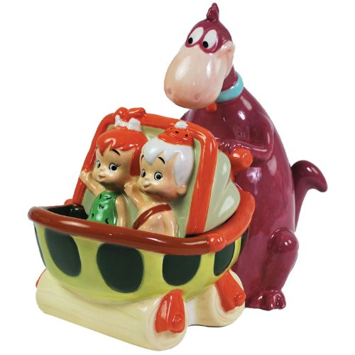 Westland Giftware The Flintstones Dino Carriage 8-Inch Candy Jar ()