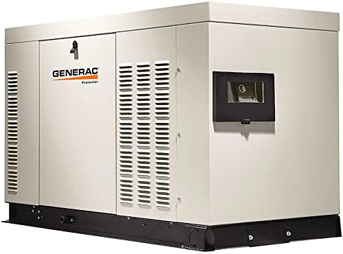 Generac RG03015ANAX Protector Series, 30kW Liquid Cooled Standby Generator, Diesel Powered, Single Phase, Aluminum Enclosed Discontinued by Manufacturer