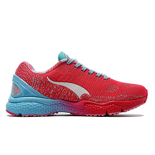 Men's Women's Outdoor Shoes Walking And Sports Casual Running Sneakers Trail Pink Knit Onemix Shoe SxRpqawE