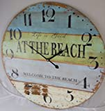 23-Life-is-Good-WELCOME-TO-THE-BEACH-Clock
