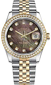 Men's Rolex Datejust 36 Gold & Steel Luxury Watch (Ref. 116243)