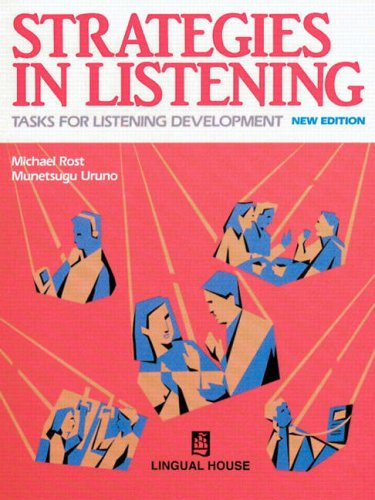 9620010337 - Michael Rost; Munetsugu Uruno: Strategies in Listening - 書