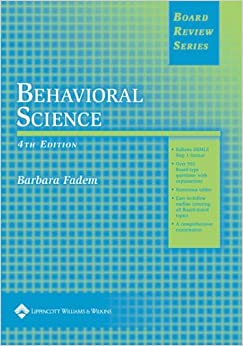BRS Behavioral Science (Board Review) (Board Review Series)