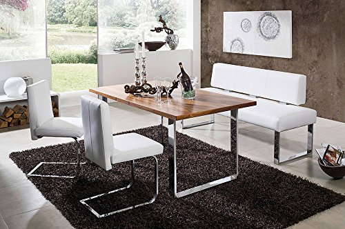 4 Piece High End Dining Set, Queens 151/3 Nut Bench Group Breakfast Nook