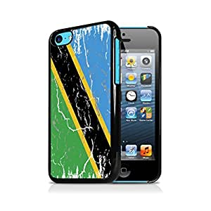 Tanzania Weathered Flag Apple iPhone 5C Black Cell Phone Case