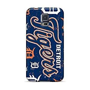 Anti-Scratch Hard Phone Cover For Samsung Galaxy S5 (aZJ4639gjTA) Custom High-definition Detroit Tigers Pattern