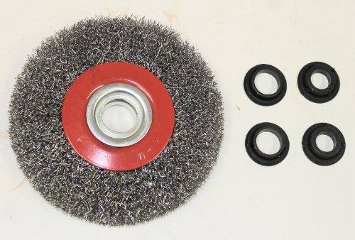 Cepillo de alambre para la molienda Di/ámetro AERZETIX 125mm C1228