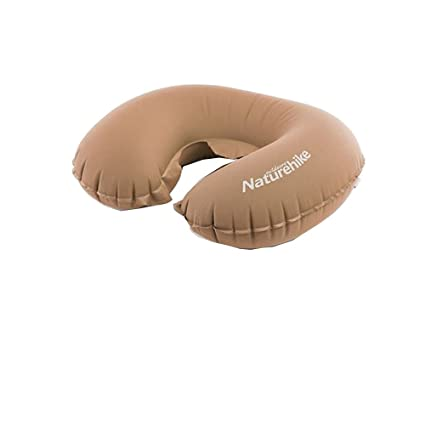 Amazon.com: Naturehike Brown U Shape Inflatable Pillow ...
