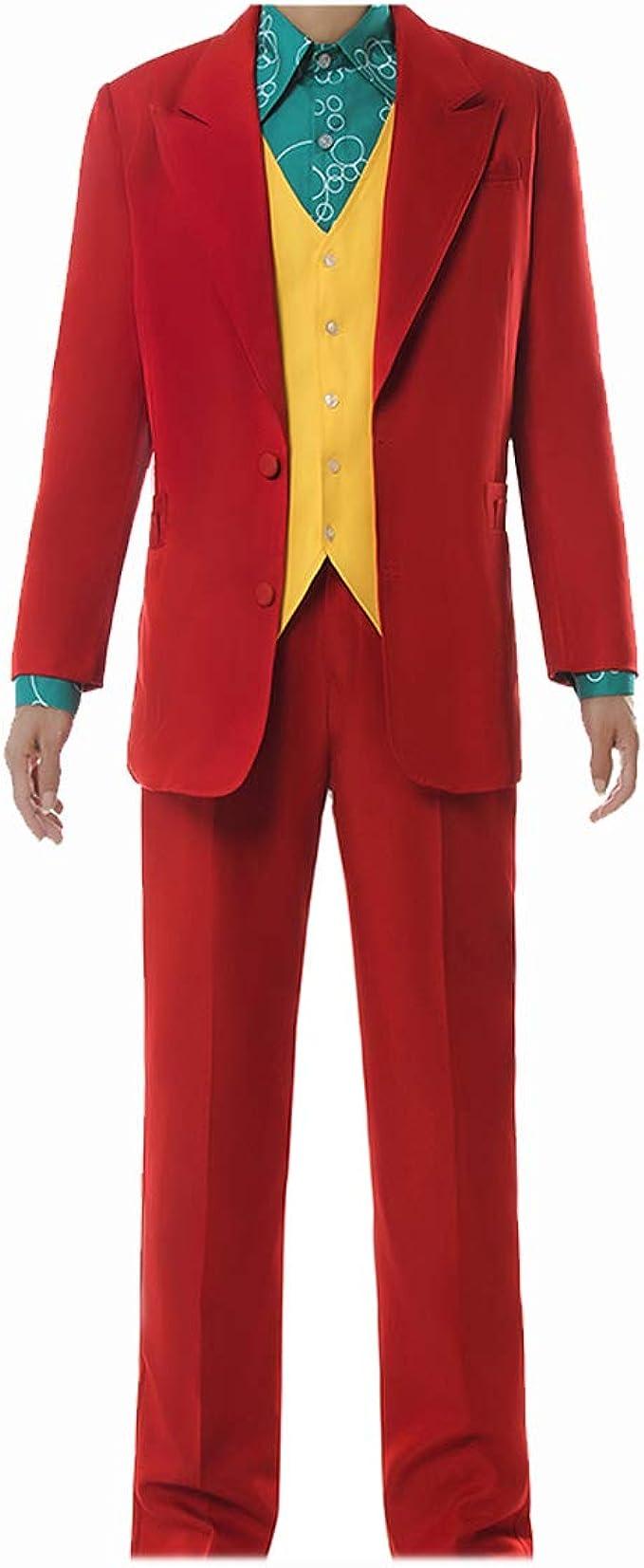 traje rojo joker joaquin phoenix