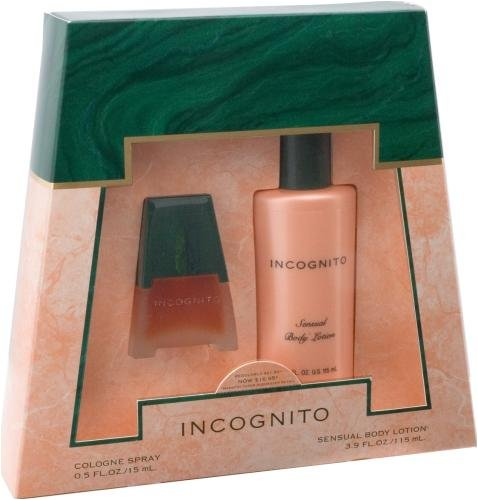 Dana Incognito By Dana For Women. Set-cologne Spray .5-Ounces & Body Lotion ()