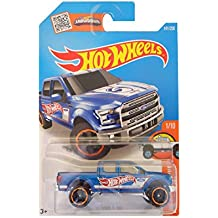 Hot Wheels 2016 HW Hot Trucks '15 Ford F-150 141/250, Blue