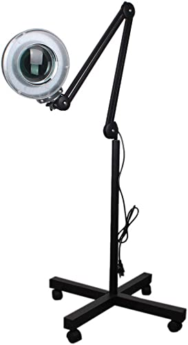 LED Magnifying Floor Lamp
