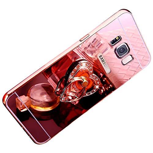Galaxy S5 Amour Ekakashop Strass étui Shiny pour Coque Silicone S5 Paillettes Coque Scintillante Mirror Luxe Cristal Clair Neo de Clear Miroir Samsung Argent Cover Brillant Anti et Carré Rose Or Bling Poudre Galaxy x5nHqqcAfY
