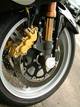R&G motorcycle Front Fork Protectors White for Suzuki GSXR