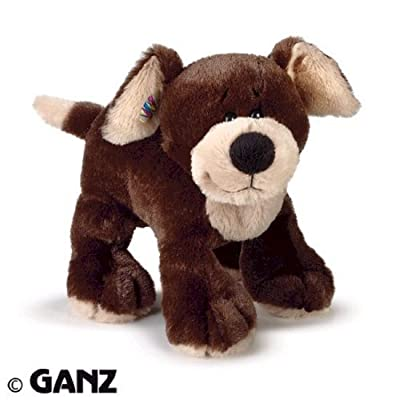 Webkinz Mocha Pup with Trading Cards