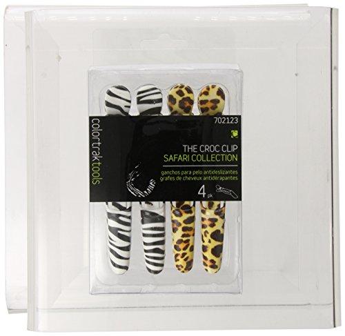zebra hair clips - 4