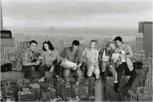 - Friends Above Manhattan 36-by-24-Inch TV Show Poster