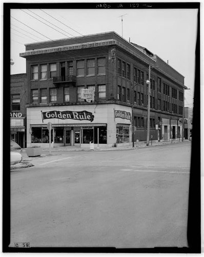 HistoricalFindings Photo: Knights of Columbus Building,202-204 South Federal Avenue,Mason City,Iowa,IA,2 ()