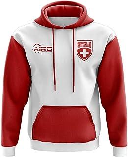 Airo Sportswear Switzerland Concept Country Football Hoody (White)
