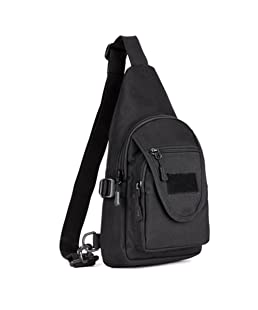 Genda 2Archer-Protector Plus Small Waterproof Chest bag Sling Backpack, Fits ipad (