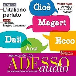 ADESSO audio - L'italiano parlato. 9/2014