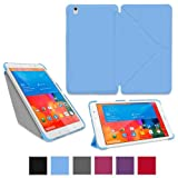 rooCASE Samsung Galaxy Tab Pro 8.4 Case - Origami Slim Shell 8.4-Inch 8.4'' Cover - BLUE