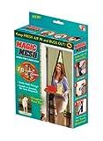 Magic Mesh MM011124 Screen Door with 18 Magnets, 83X195-Inch, Black