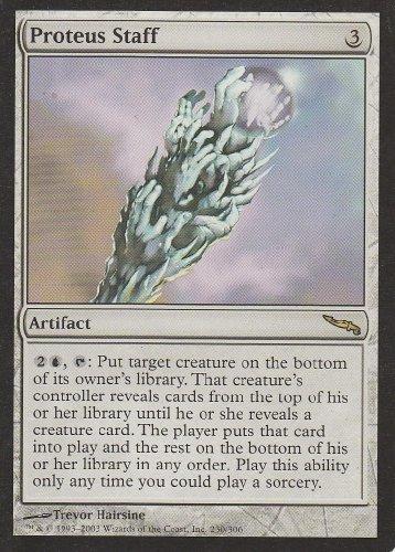 Proteus Staff (Magic the Gathering : Mirrodin #230 Rare)