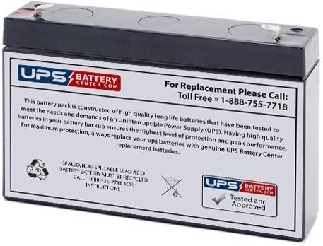 Powersonic PS-1228 12V 2.8 AH Rechargeable Lead Acid Replacement Battery