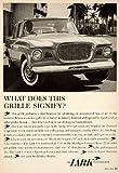 1959 Ad Studebaker-Packard Lark 4 Door Sedan Car Classic Automobile Collector - Original Print Ad