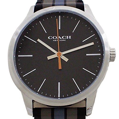 43722ec15f0a コーチ メンズ 腕時計 W1545 黒文字盤 ブルー系ベルト [並行輸入品 ...